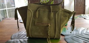 Carry Bag multicolored suede