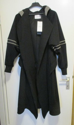 Traum Designer Mantel Handmade Einzelstück black NEU