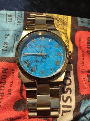 Traum Michael Kors Uhr türkis mit Gold- top Zustand