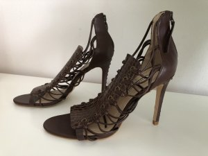 Traum Sandalette v. Zara Woman, Gr. 39, braun, high heel, *Neu*
