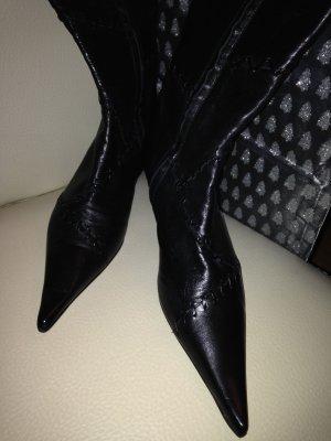 Traum-Stiefel aus Italien - Kittenheel-Form -Nappa - 37,5 von di Lara