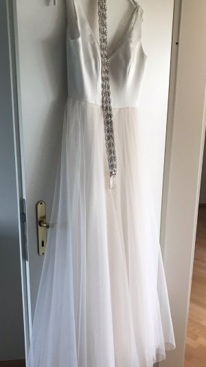 Adrianna Papell Wedding Dress multicolored silk