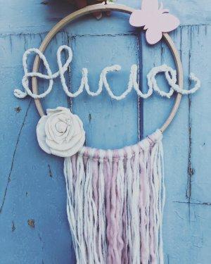 Beach Towel pink-baby blue