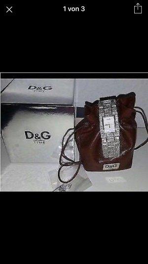 Traumhaft funkelnde  D&G Uhr mit Swarovski