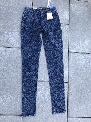 Levi's Slim jeans blauw-donkerblauw