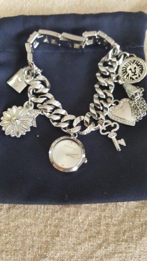 Anne Klein Bracciale charm argento