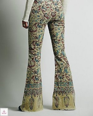 Free People Flares multicolored