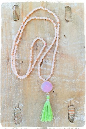 Chain nude-pink