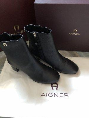 Traumhaft schöne Leder Stiefeletten von Aigner neu mit Karton 399€