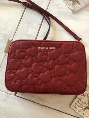 Traumhaft schöne Leder Tasche limitiert Edition von Michael Kors mit gesteppten Herzen 299€