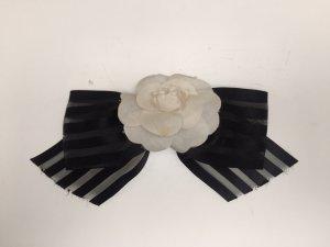 Chanel Accessorio per capelli nero-bianco