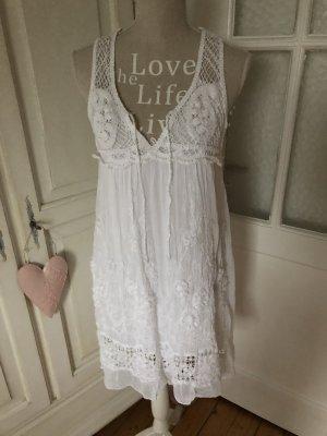 Traumhaft schönes Häkel Kleid weiß 129€