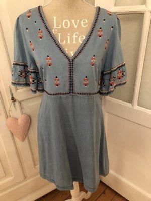 Traumhaft schönes Hippie Kleid mit Stickereien von Pepe Jeans neu 169€