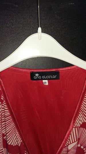 Ana Alcazar Dress red-white