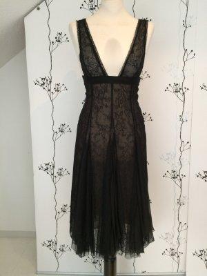 Traumhaft schönes Original HUGO BOSS Kleid aus Seide und spitze Gr. 34