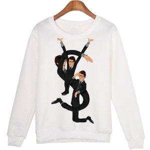 Traumhaft Schönes Sweatshirt Gr. M Weiß NEU