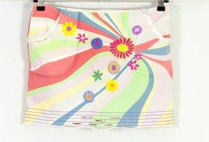 Traumhaft süsser Minirock mit vielen Details von Stefanel Gold