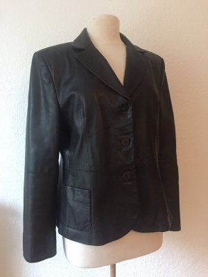 Aygill's Leather Jacket black leather