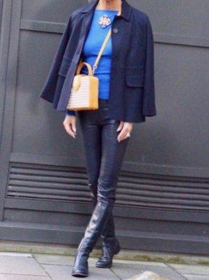 traumhafte dunkelblaue Lederhose von Rena Marx