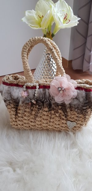 Ibiza last Basket Bag multicolored mixture fibre