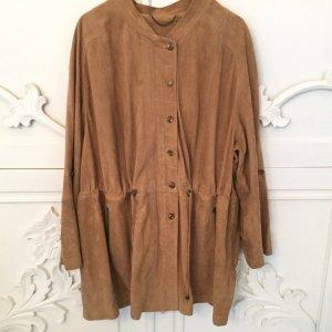 Anna Aura Leather Jacket beige-camel