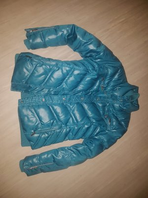 Traumhafte petrolfarbene Daunenjacke von Pepe Jeans