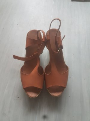 Wedge Sandals brown