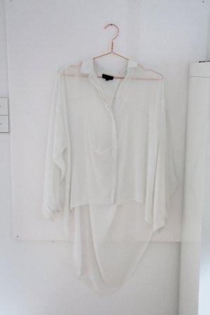 Traumhafte weiße Bluse von Topshop mit super Rückenausschnitt
