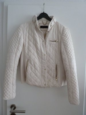 Zara Biker Jacket natural white