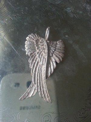 Traumhafter Anhänger Flügel, Engelsflügel, 925er Silber!