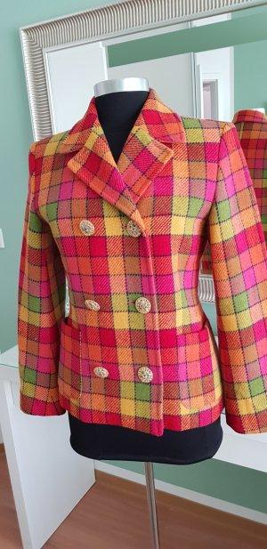 Manoukian Blazer in lana multicolore Lana