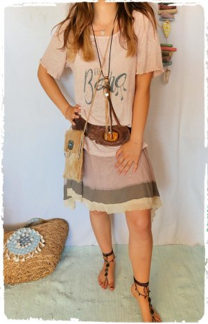 Hippie Dress nude-beige