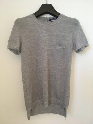Stefanel Knitted Jumper light grey-grey cashmere