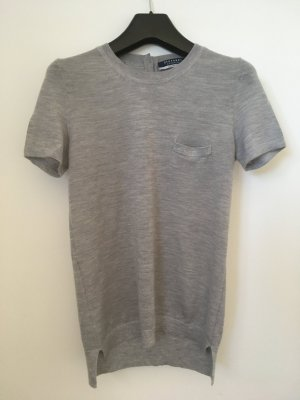 Stefanel Camisa tejida gris claro-gris Cachemir