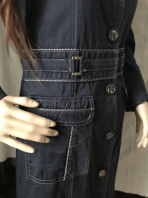 Frock Coat dark blue-white