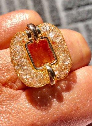 100% Fashion Statement ring goud