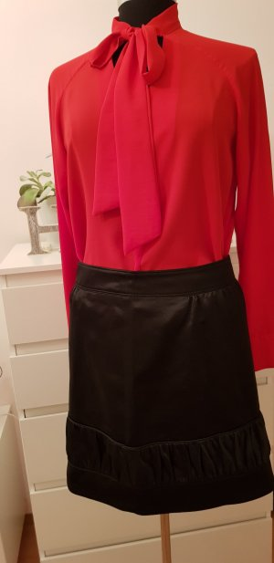 Burberry Miniskirt black silk