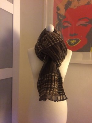Traumhafter Schal in taupe/braun