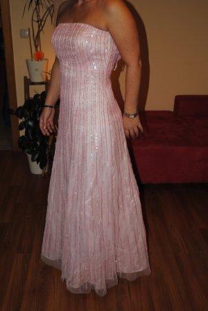Apart Vestido de baile rosa Seda