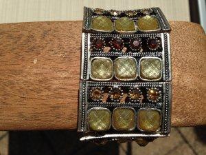 Traumhaftes Armband in Silber mit Glitzersteinen