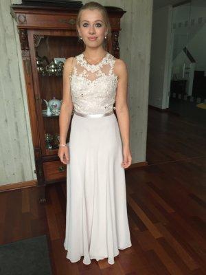 Ball Dress dusky pink-light grey