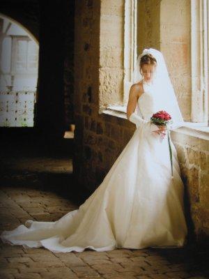 Traumhaftes Brautkleid in Ivory von GALA Exclusive