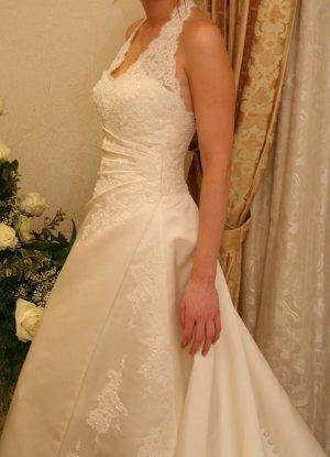 Pronovias Wedding Dress white polyester