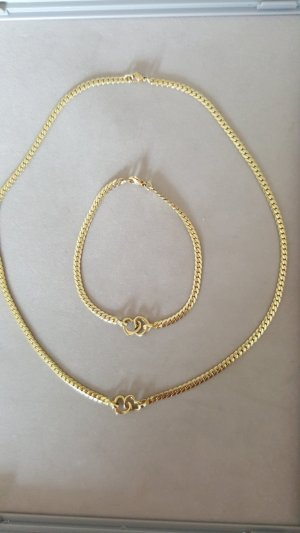 Christ Collier Necklace gold-colored real gold