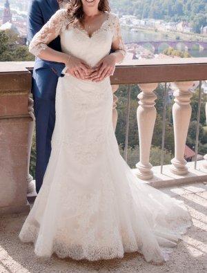 White Robe de mariée multicolore