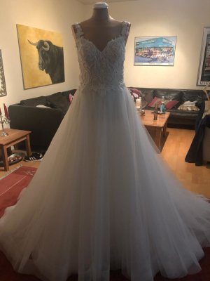 100 Robe de mariée blanc