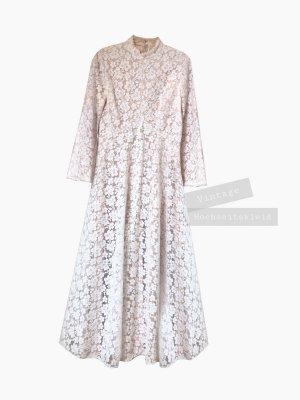 Vintage Robe de mariée multicolore