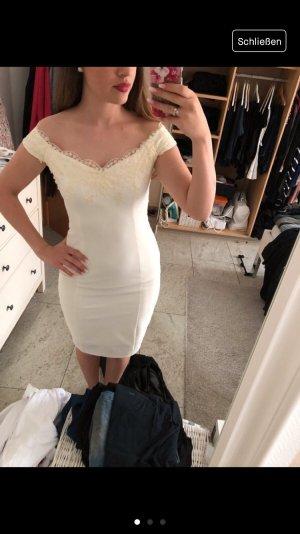 Vestido de novia blanco-blanco puro