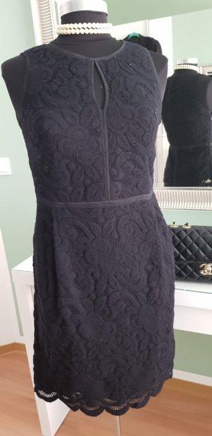 Kathleen Madden Vestido de lana negro Lana