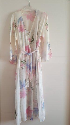 Traumhaftes MALIZIA by La Perla Seiden-Kombi Nachtkleid mit Kimono
